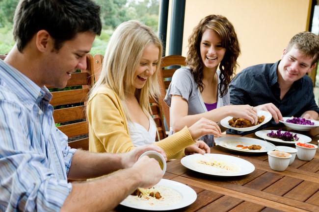 Kako Vaši sudionici za stolom utječu na vaš unos hrane